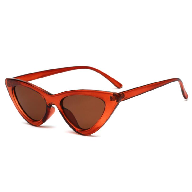 Retro Triangle Cat Eye Sunglasses
