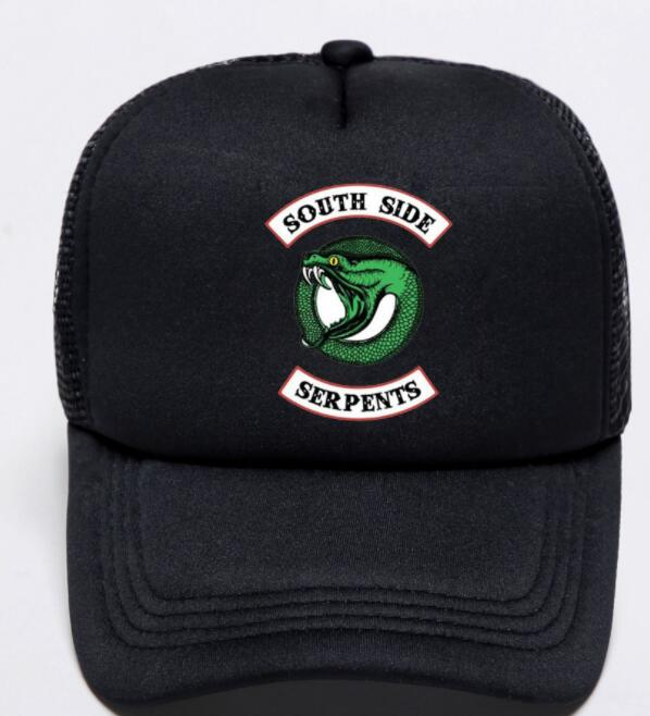2019 New Summer Riverdale Jughead hat South Side Serpents unisex Archie baseball hat Cap