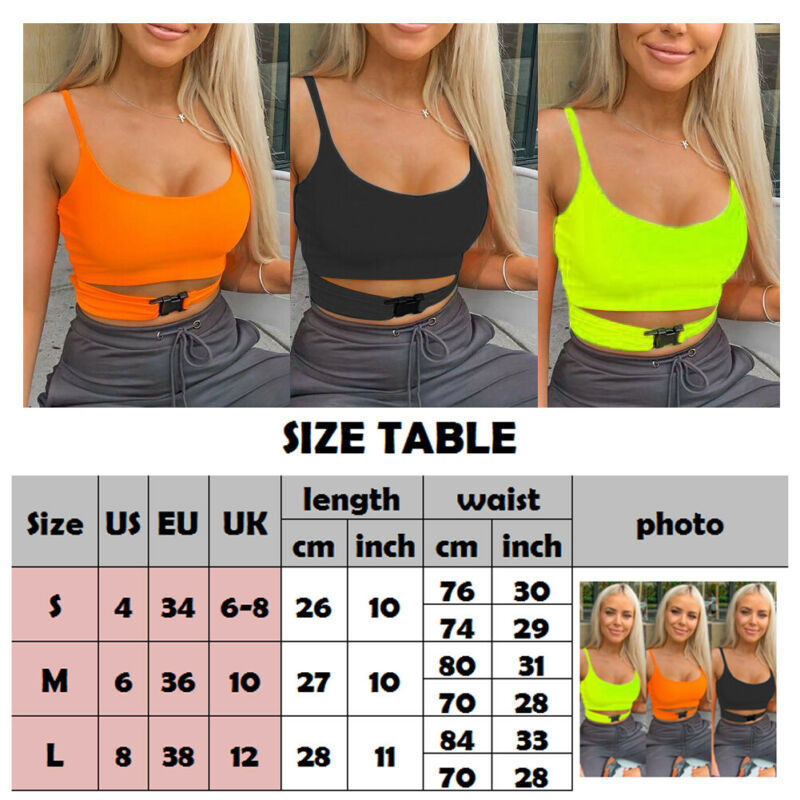 2019 New hot buckle waist hole vest Women Slim Tank Top Sexy Crop Top Short Sleeve T-Shirt Blouse Clubwear fashion ladies tops
