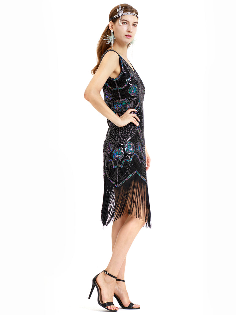 Exotic style with gorgeous paisley pattern decorative vintage dress