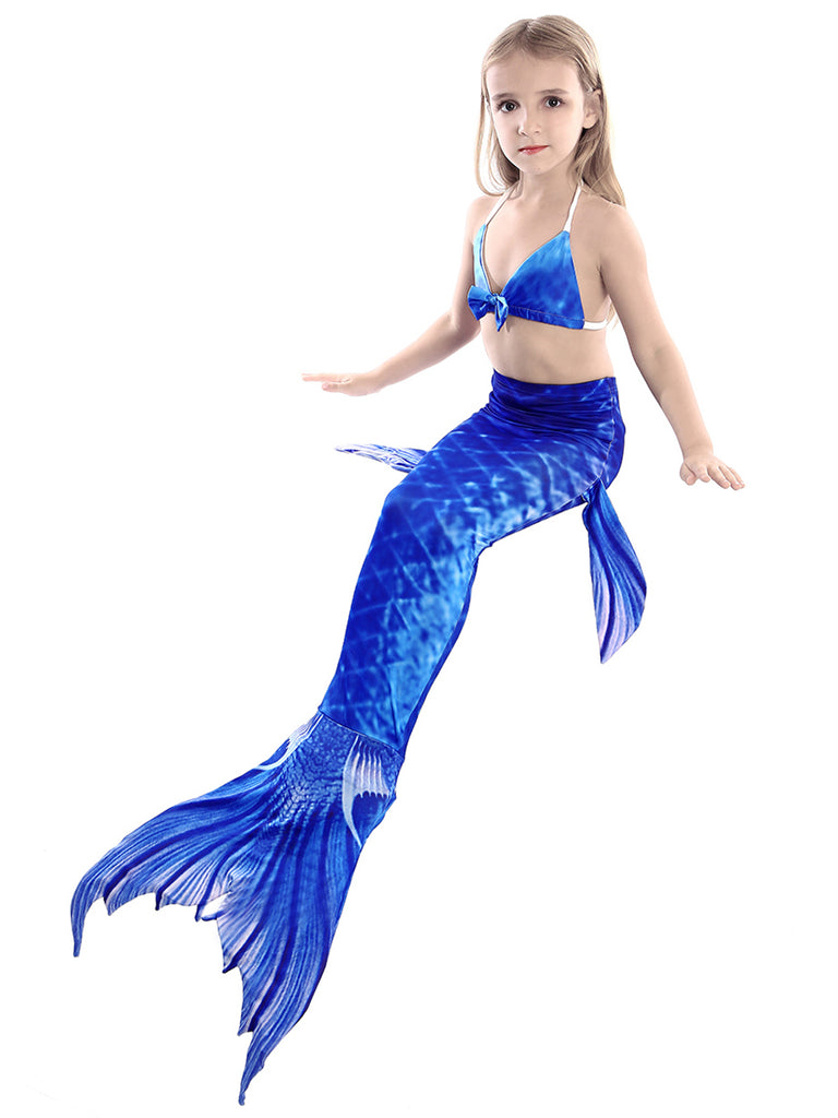 Girls Mermaid Swimming Tail Little Mermaid Clothes