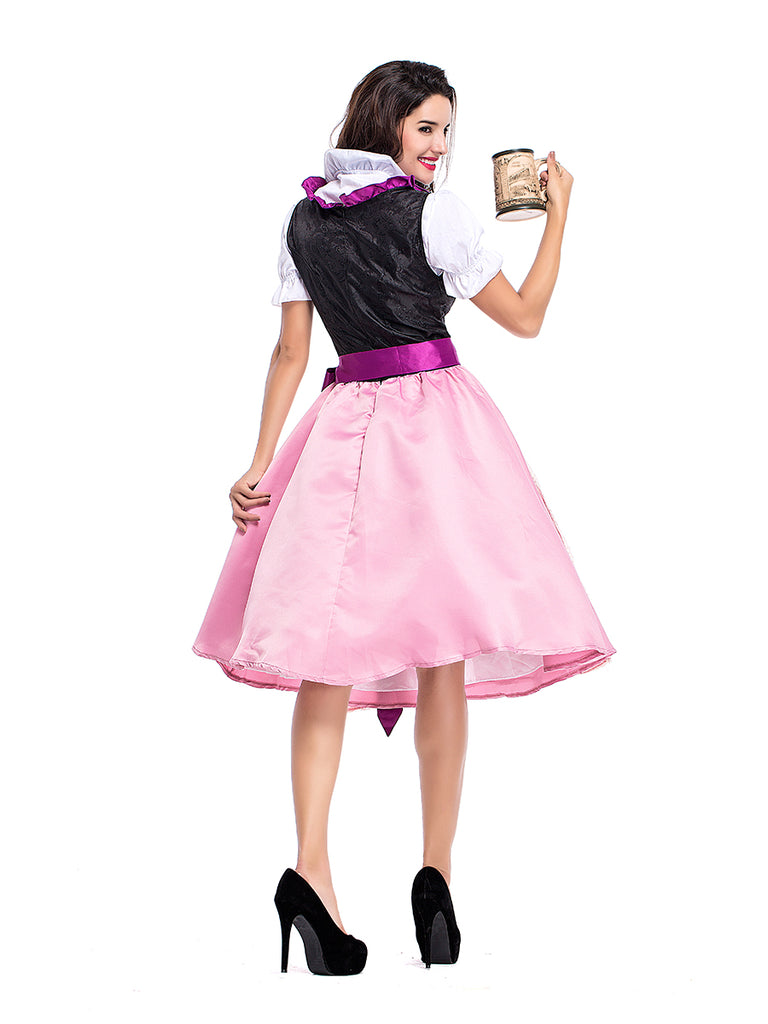 Womens Dress Oktoberfest Fraulein Costume