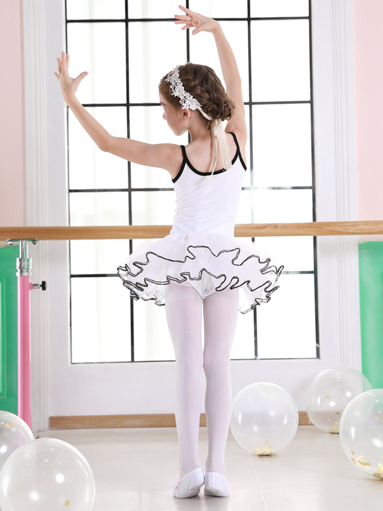 Girls Practise Camisole Tutu Skirt