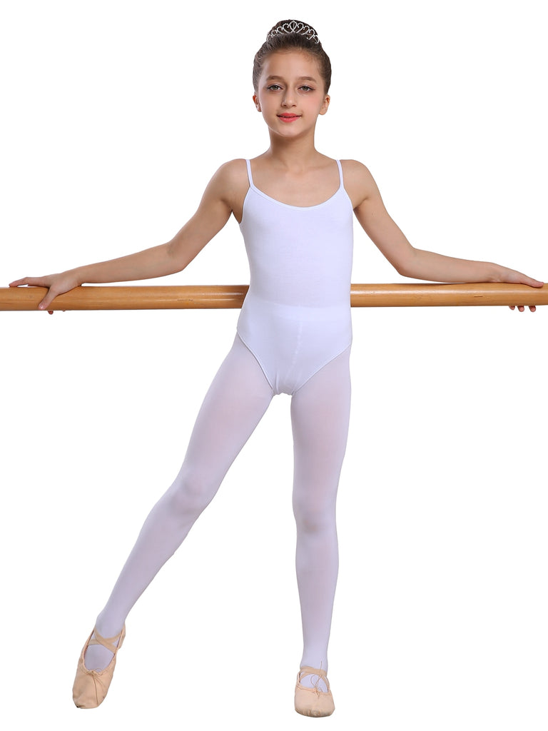 Classic Short Sleeve Cute Crisscross Design Ballet Tights