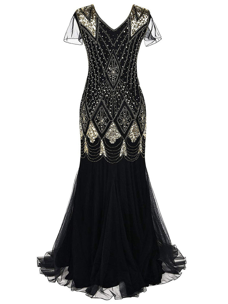 Modern Retro 1920 Gorgeous Pattern Dress