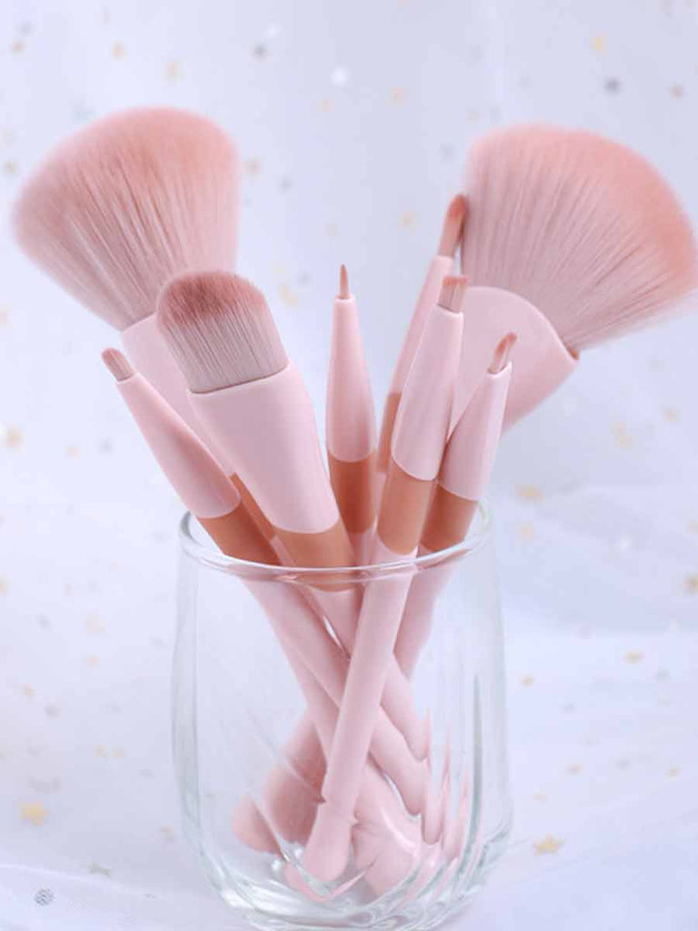 Makeup Set 8 Pcs Two-color Handle Brush