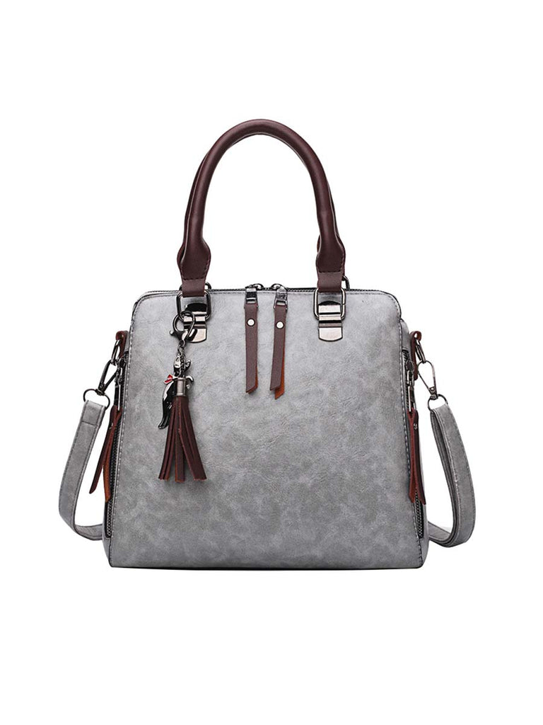 Women Bag Fashion Vertical Square Handbag