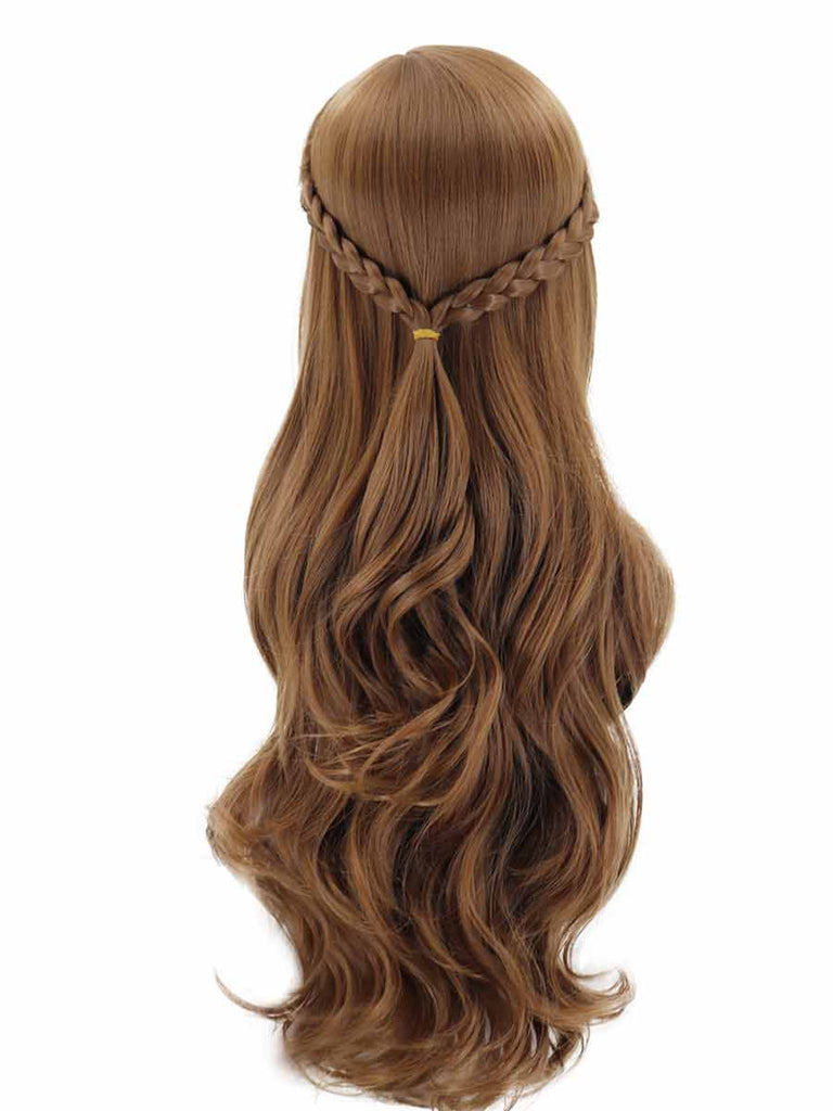 Rose Net Hair Cover Frozen 2 Princess Aisha Cosplay Wig