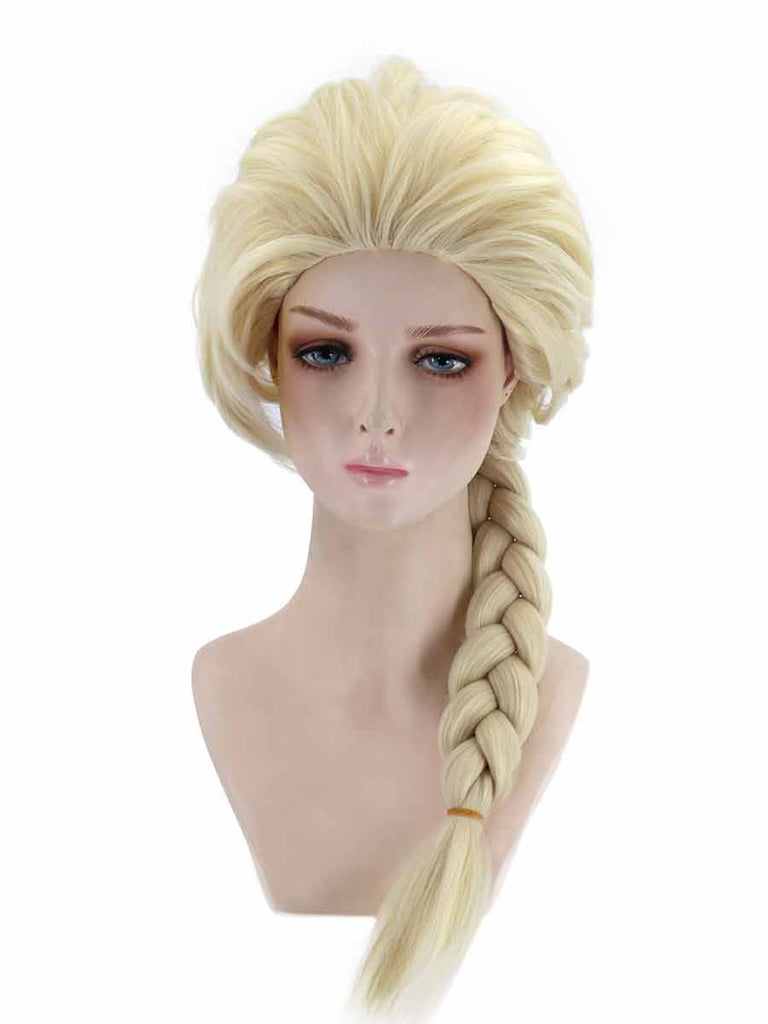 Rose Net Hair Cover Frozen 2 Anna Princess Cosplay Wig
