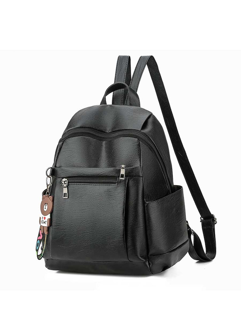 Ladies Bag Business Solid Color Multi-function Backpack