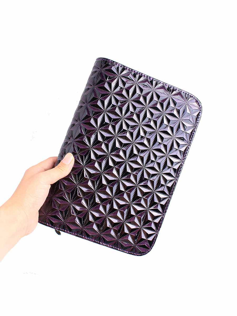 6-pack Salon Tools Holster Diamond Quilted Pattern Bag