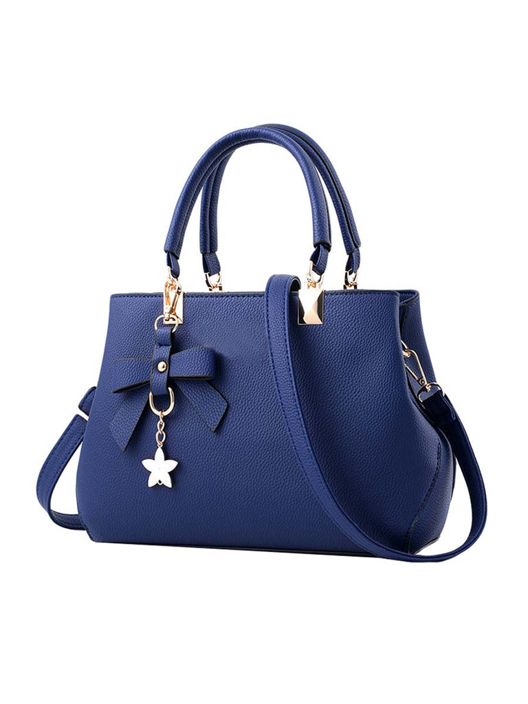Ladies Bag Casual Bow Decoration Messenger Bag