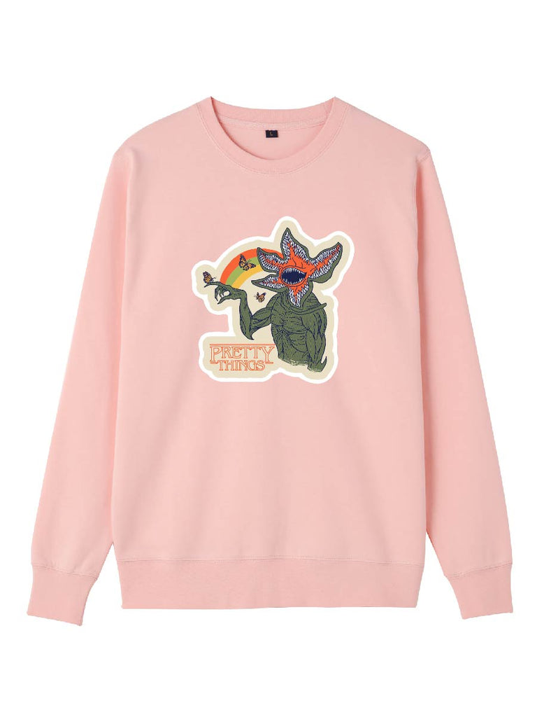 Stranger Things Clothes Funny Demogorgon Pullover