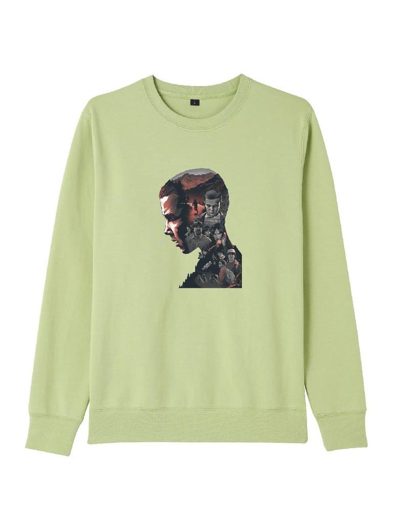 Stranger Things Clothes Memories Silhouette Pullover