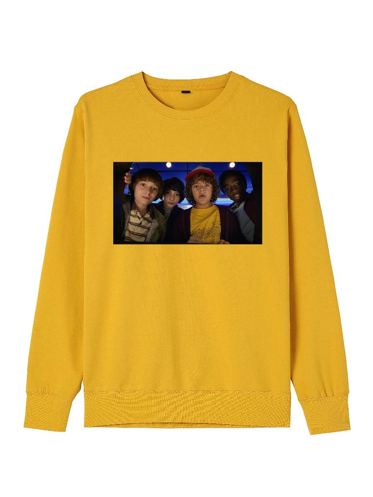Stranger Things Clothes Funny Printing Pullover