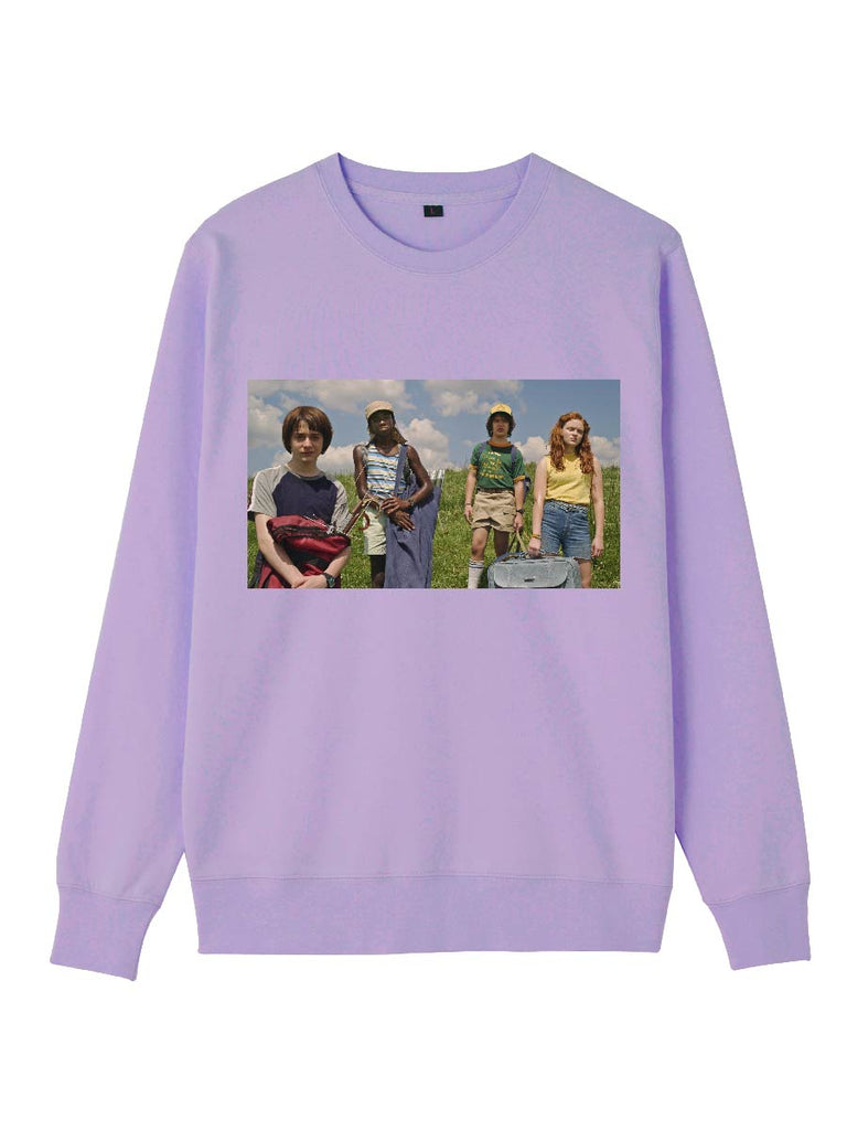 Stranger Things Clothes Vintage Style Modeling Printing Sweatershirt