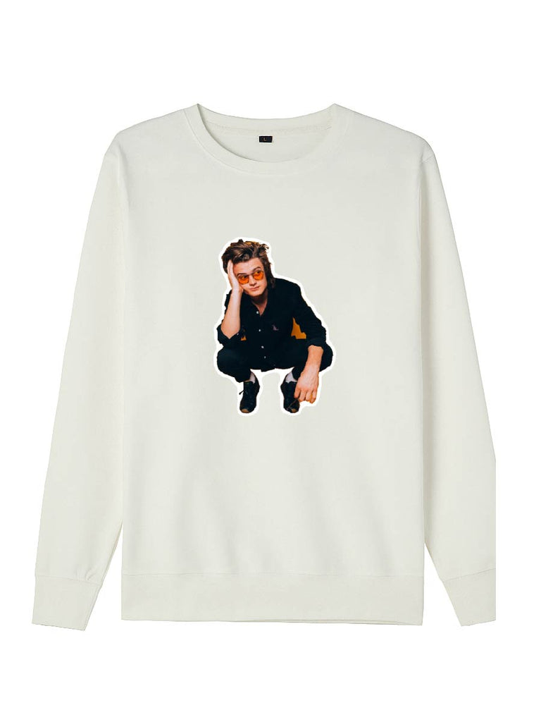 Stranger Things Series Steve Harrington Print Sweatershirt