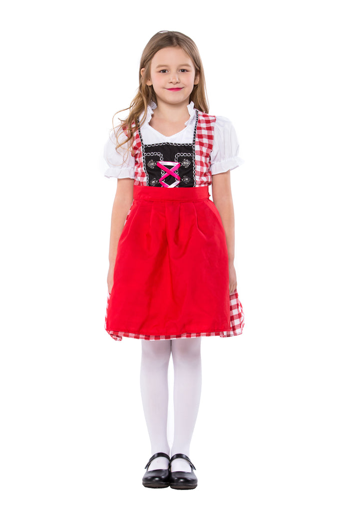 Girls Bavarian Oktoberfest Fraulein Costume