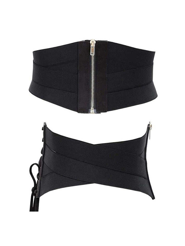 Corset Waist Belt Fashion Elastic Stretch Wide Band