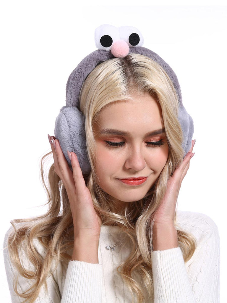 Cute Accessroies Lovely Foldable Ear Muff For Women