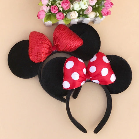 Minnie Mouse Ears Hairband