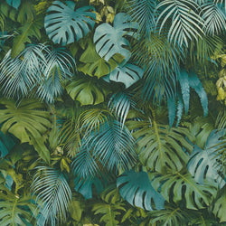 greenery nocturnal jungle wallpaper - 372803
