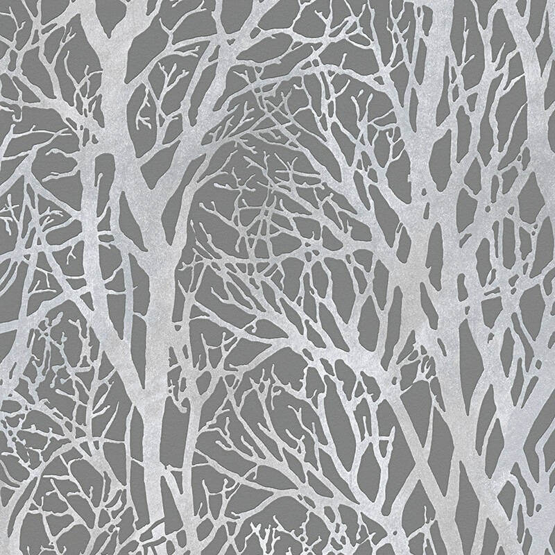 AS Creation Life Silver/grey forest wallpaper - 300943