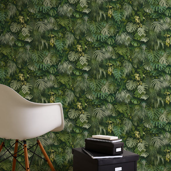 greenery jungle green wallpaper - 372802