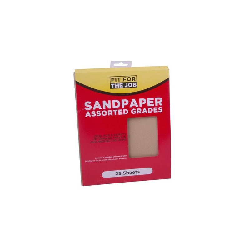 Sandpaper - Assorted PK25