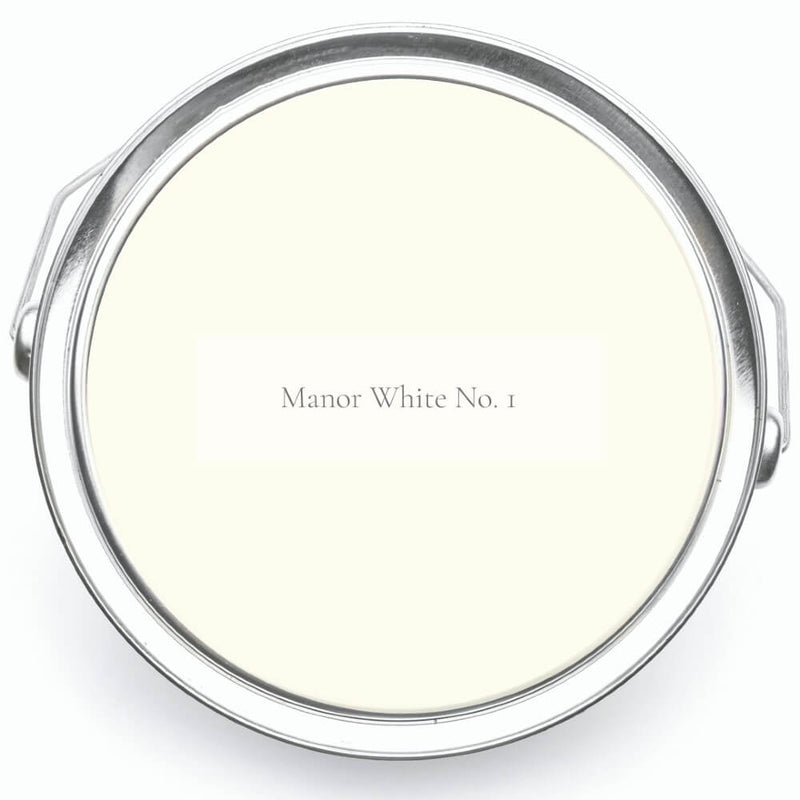Victory Colours Manor White No. 1 Paint Tin