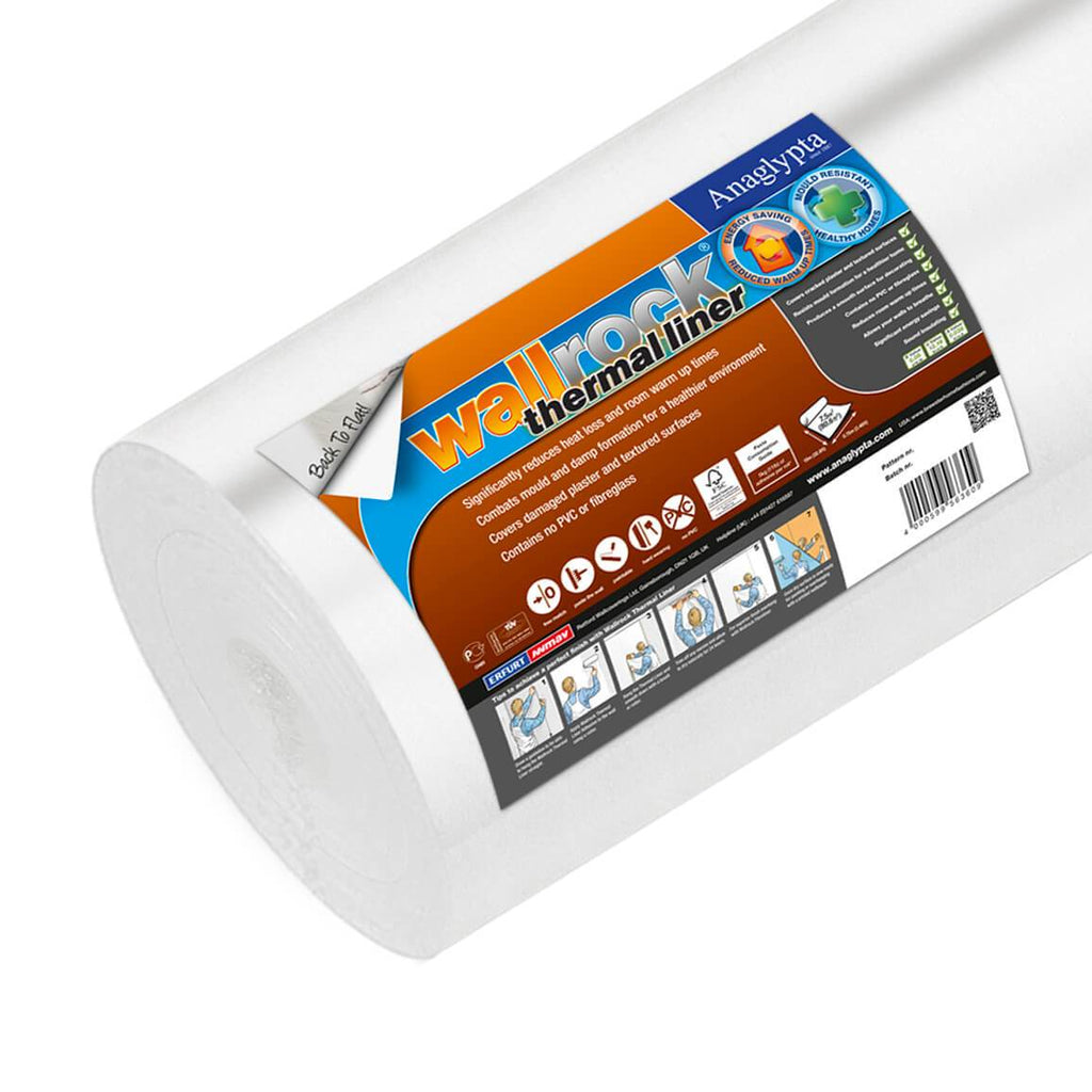 Wallrock thermal liner alternative to cavity wall insulation