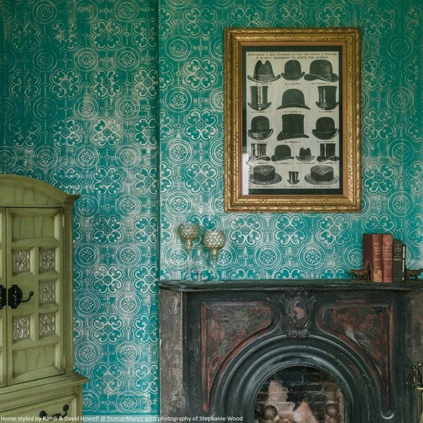 Anaglypta Luxury Vinyl Egon - RD80029 Wallpaper room shot