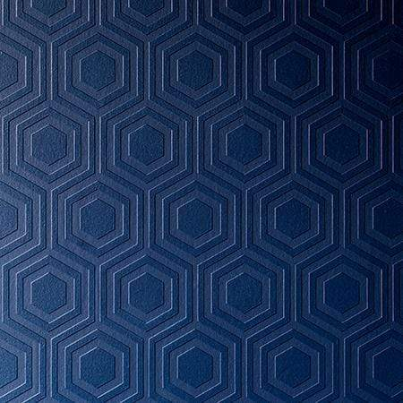 Anaglypta Luxury Vinyl - Hive RD5671 wallpaper painted blue