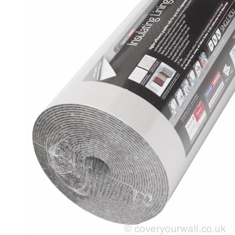 Graphite Plus Insulating Lining Paper Roll