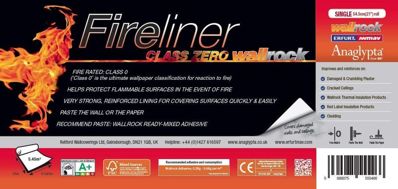 Wallrock Fireliner label