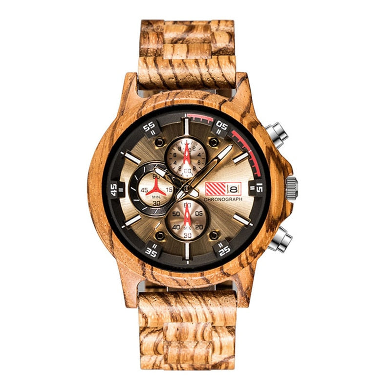 SOFISTICAT WOODEN WATCH