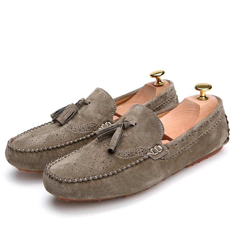 Men's Loafers Suede Flats