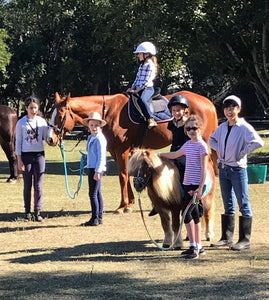 Mini school holiday horse camp 21 - 24 Sept