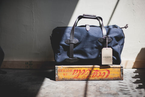 Filson Medium Duffle- Navy