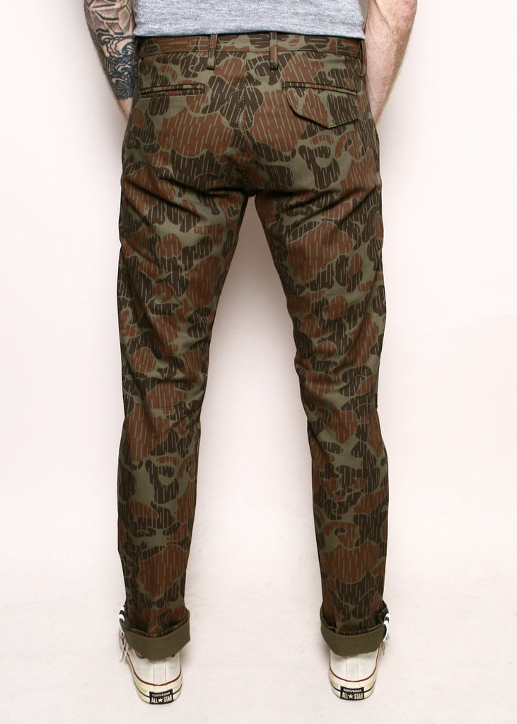 Rogue Territory - Officer Trouser Anniversary Camo Olive
