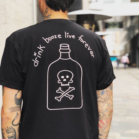 "viper x bsco ""Drink Booze Live Forever"""
