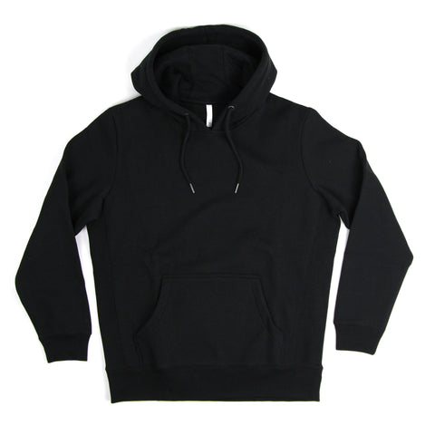 BS Basics Organic Cotton Hoodie - True Black
