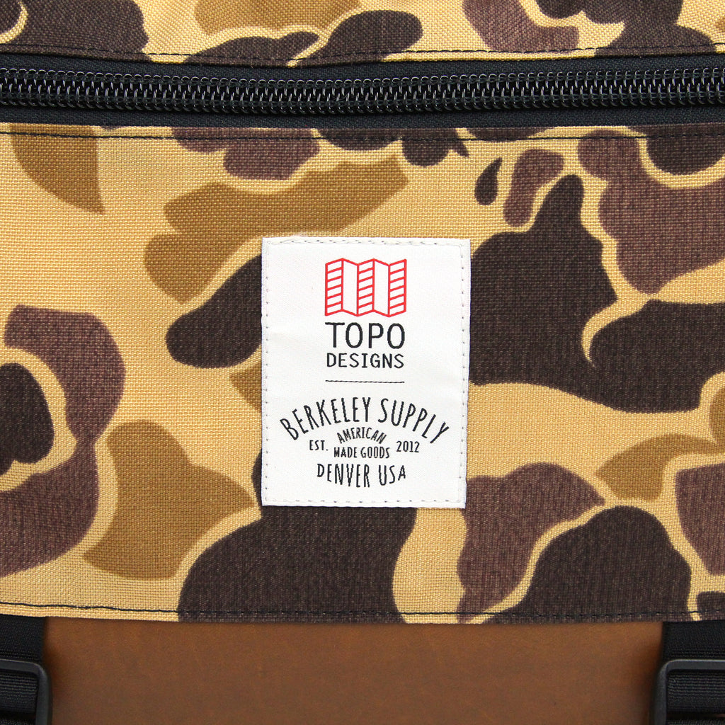 Berkeley Supply x Topo Designs Essential Luggage Collection
