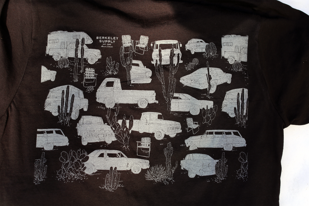 Vehicle Tee - Evan Hecox for Berkeley Supply 2020