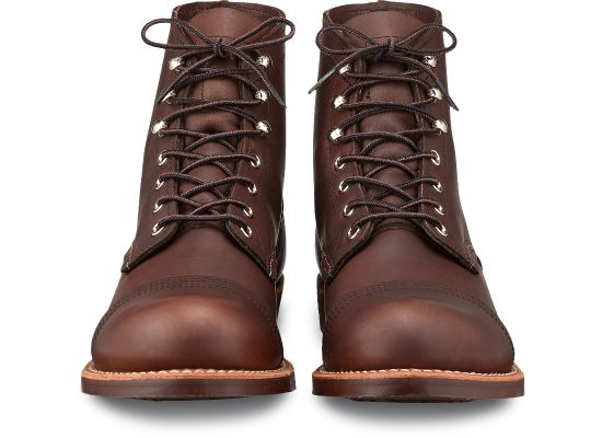 Red Wing Heritage Iron Ranger 8111 - premium Amber Harness leather