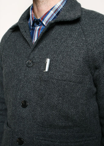 rogue territory - EXPLORER BLAZER WOOL - GREY