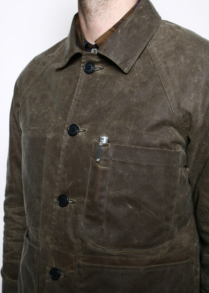 ROGUE TERRITORY- Explorer Blazer Waxed Brown