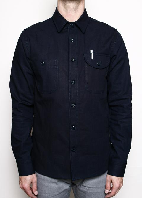 Rogue Territory - Service Shirt // 15oz Stealth