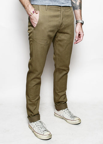 Rogue Territory - Infantry Pant Tan Denim