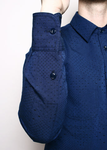 Rogue Territory - Jumper Shirt Navy Diamond